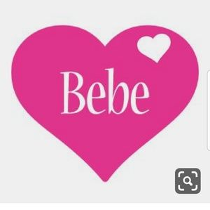 bebe Accessories - NEW Bebe Black Denim Cap W/Rhinestone Accent